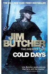 Cold Days - Jim Butcher - Régikönyvek