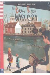 The Boat Race Mystery - Stage 1 (+CD) - BORSBEY, JANET - SWAN, RUTH - Régikönyvek