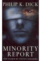 Minority Report - Philip K. Dick - Régikönyvek
