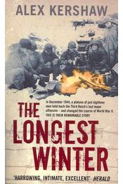 The Longest Winter - KERSHAW, ALEX - Régikönyvek