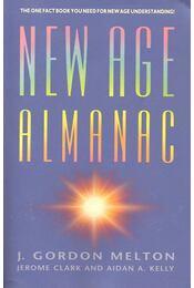 New Age Almanac - MELTON, GORDON J. - Régikönyvek