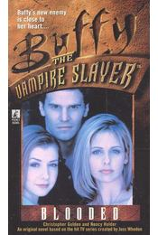 Buffy the Vampire Slayer – Blooded - GOLDEN, CHRITOPHER – HOLDEN, NANCY - Régikönyvek