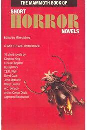 The Mammoth Book of Short Horror Novels - ASHLEY, MIKE - Régikönyvek