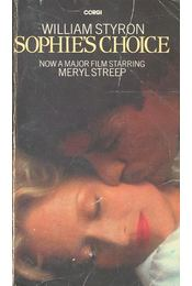 Sophie's Choice - William Styron - Régikönyvek