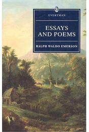Essays and Poems - Emerson, Ralph Waldo - Régikönyvek
