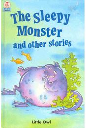 The Sleepy Monster - HOPWOOD, CLIVE - Régikönyvek