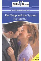The Temp and the Tycoon - Fielding, Liz - Régikönyvek