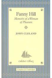 Fanny Hill - Memoirs of a Woman of Pleasure - Cleland, John - Régikönyvek