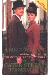 The Cater Street Hangman - PEERY, ANNE - Régikönyvek
