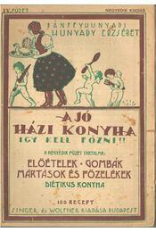 A jó házi konyha - Igy kell főzni! IV. füzet - Hunyady Erzsébet, Bánffy Hunyadi - Régikönyvek
