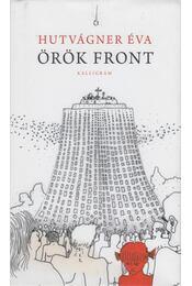 Örök front - Hutvágner Éva - Régikönyvek
