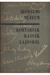 Kortársak Kassák Lajosról - Illés Ilona, Taxner Ernő - Régikönyvek