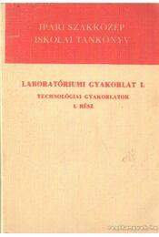 Laboratóriumi gyakorlat I. - Technológiai gyakorlatok I. rész - Illés László - Régikönyvek