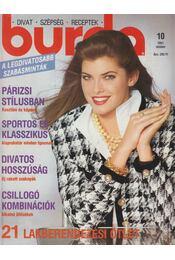 Burda 1991/10. október - Ingrid Küderle (szerk.) - Régikönyvek