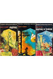 Alapítvány I-III. - Isaac Asimov - Régikönyvek