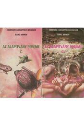 Az Alapítvány pereme I-II. - Isaac Asimov - Régikönyvek