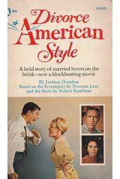 Divorce American Style - Jackson Donahue - Régikönyvek