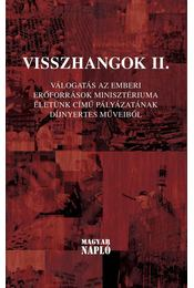 Visszhangok II. - Jámborné Balog Tünde, Bíró Gergely, Zsille Gábor - Régikönyvek