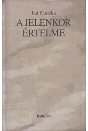 A jelenkor értelme - Jan Patocka - Régikönyvek