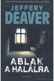Ablak a halálra - Jeffery Deaver - Régikönyvek