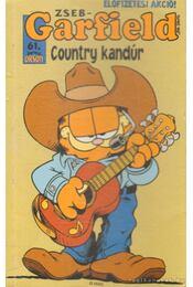 Country kandúr - Jim Davis - Régikönyvek