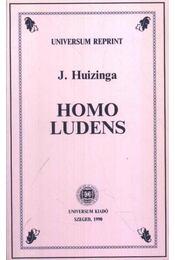 Homo Ludens - Johan Huizinga - Régikönyvek