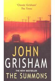 The Summons - John Grisham - Régikönyvek