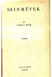 Színművek I. - Jókai Mór - Régikönyvek