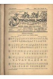 Magyar Nóta 1932. (teljes évf.) - Jósvay Gábor - Régikönyvek