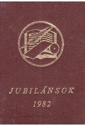 Jubilánsok 1982 (mini) - Régikönyvek