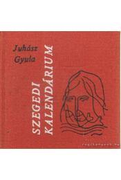 Szegedi kalendárium (mini) - Juhász Gyula - Régikönyvek