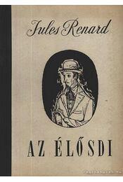 Az élősdi - Jules Renard - Régikönyvek