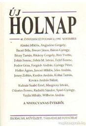 Új Holnap 1995. 40. évfolyam november - Kabdebó Lóránt - Régikönyvek