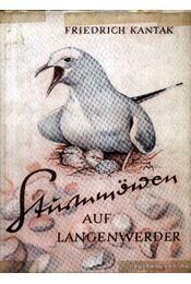 Sturmmöwen auf Langenwerder - Kantak, Friedrich - Régikönyvek