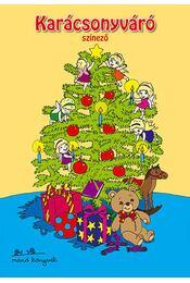 Karácsonyváró színező - Régikönyvek