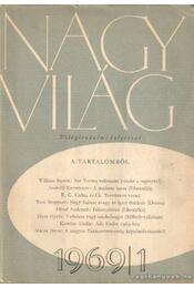 Nagy Világ 1969/1 - Kardos László - Régikönyvek
