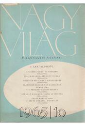 Nagyvilág 1965/10. - Kardos László - Régikönyvek