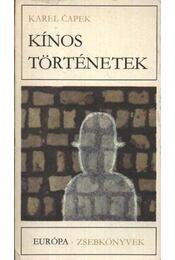 Kínos történetek - Karel Capek - Régikönyvek