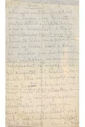 """""""Előszó"""" - Karinthy Frigyes autográf, aláírt kézirata - Régikönyvek"""