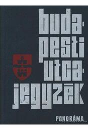 Budapesti utcajegyzék 1974. - Károly István dr. - Régikönyvek