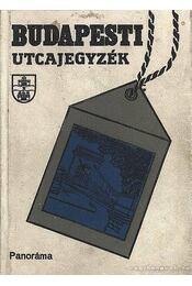 Budapesti utcajegyzék 1989 - Károly István dr. - Régikönyvek