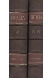 Vizsolyi Biblia I-II. (reprint) - Károlyi Gáspár - Régikönyvek