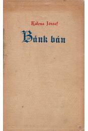 Bánk bán - Katona József - Régikönyvek