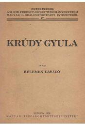 Krúdy Gyula - Kelemen László - Régikönyvek