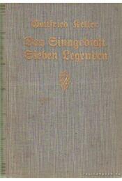 Das Sinngedicht Sieben Legenden - Keller, Gottfried - Régikönyvek