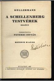 A Schellenberg testvérek - Kellermann - Régikönyvek