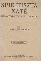 Spiritiszta káté - Kempelen Farkas - Régikönyvek