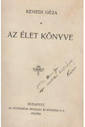 Az élet könyve - Kenedi Géza - Régikönyvek
