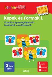 Képek és formák 1. - LDI108 - Vizuális képességfejlesztő feladatok óvodásoknak - BambinoLÜK - Régikönyvek