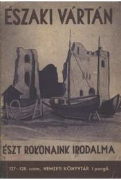 Északi vártán - Képes Géza - Régikönyvek